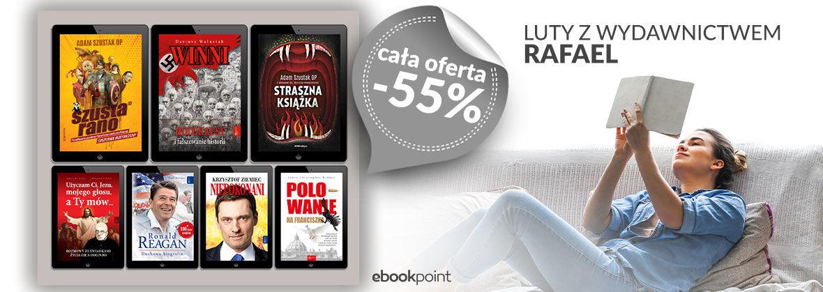 Promocja na ebooki Wydawnictwo Rafael [ CAŁA OFERTA -55%]